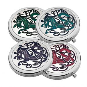 Sea Gems Celtic Horse Compact Mirror